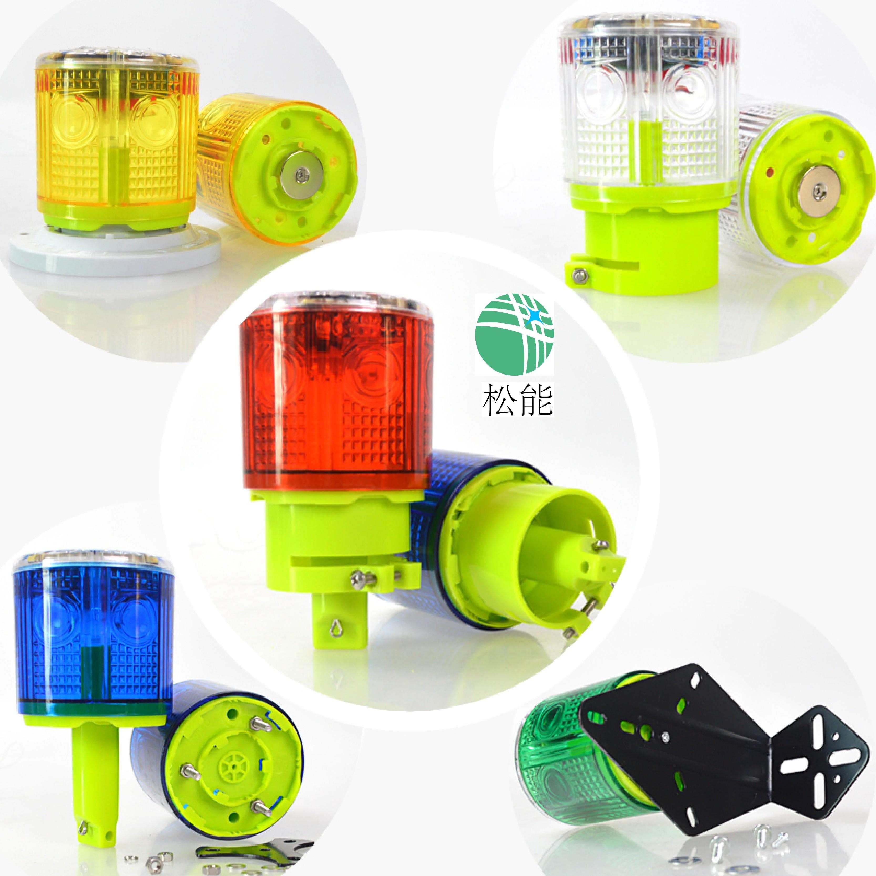 上海松能电子SN-6S800太阳能警示灯厂家直销
