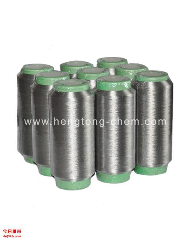 青岛天银专利生产银纤维防辐射纱线和布料