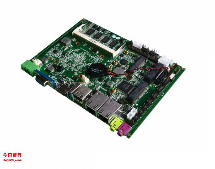 厂家供应:3.5寸工控主板,J1900处理器无风扇低功耗主板