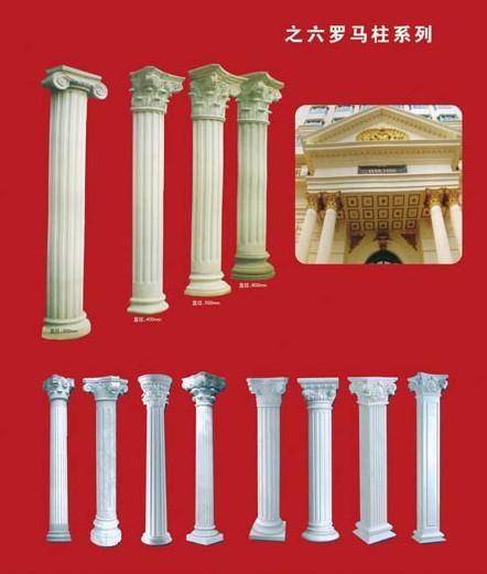柱子 欧式柱子 罗马建筑 罗马柱子 圆柱 方柱 地产大门柱子 房地产