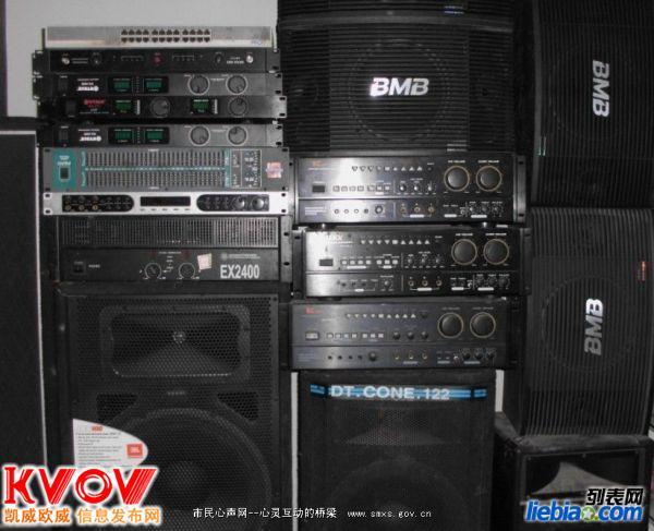 回收进口音响 调音台 功放 先锋打碟机收购 KTV包间音响回收