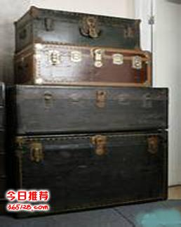 上海徐汇区老樟木箱回收什么价格+上海老皮箱一般怎么回收+电