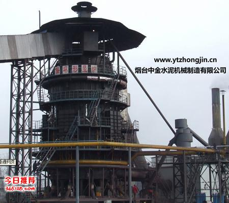 巨型竖炉结构图