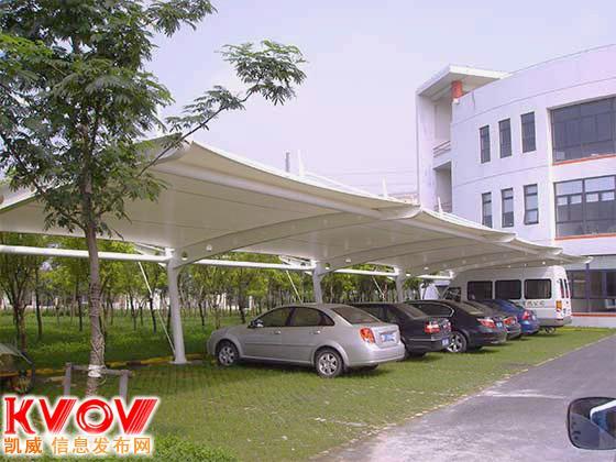 苏州膜结构停车棚,膜结构停车棚价格,苏州灿宇专业制造