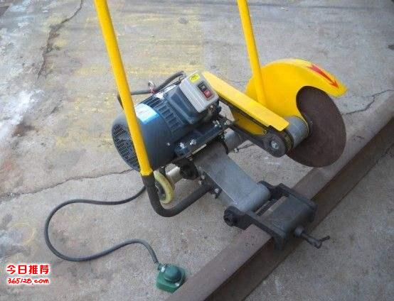 铁轨切割机DQG-4钢轨切割机电动/汽油轨道切断机切轨机铁路切割