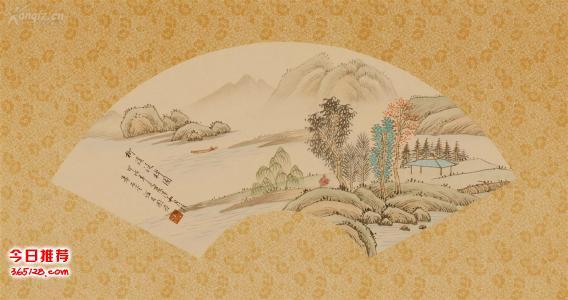 回收名人字画上海苏州古玩字画回收文革民国扇画老字画回收