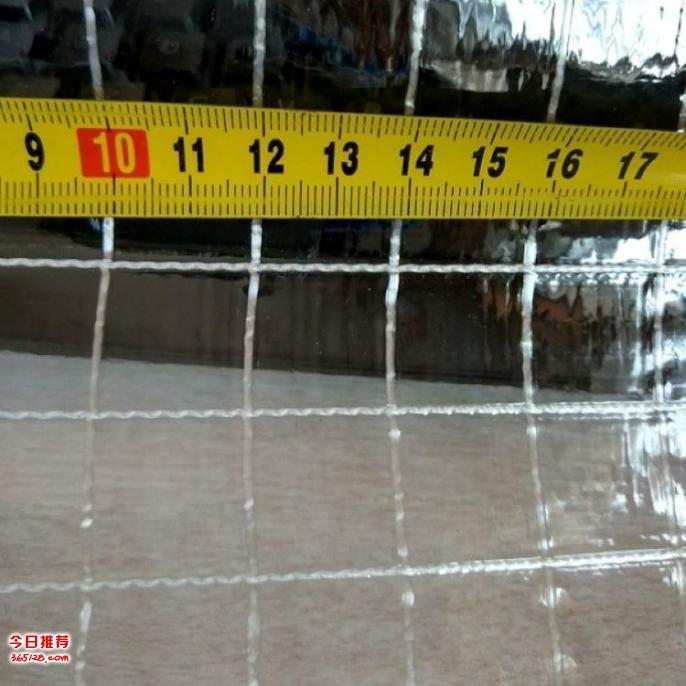 PVC阻燃透明夾網布