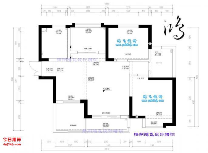 扬州鸿飞设计培训,3D效果图培训,家装效果图培训