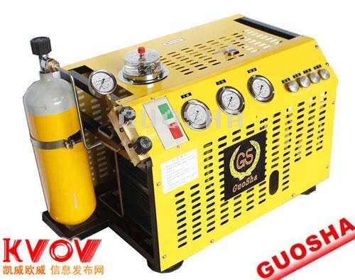 GSW200型潛水呼吸空氣壓縮機國廈品牌