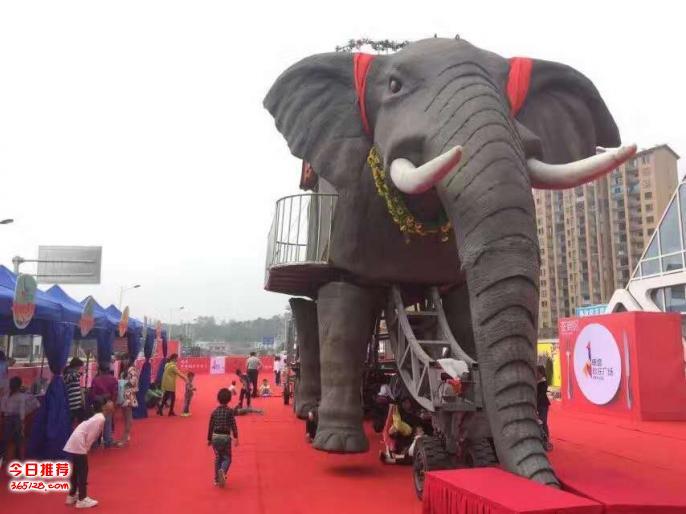 西宁机械大象出租,暖场仿真大象租,巴黎铁塔定制出租