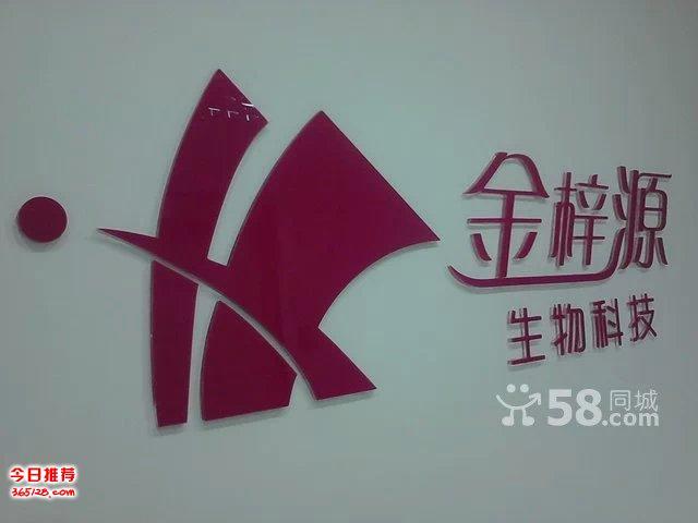 北京亚克力字制作公司logo墙背景形象墙字制作免费安装