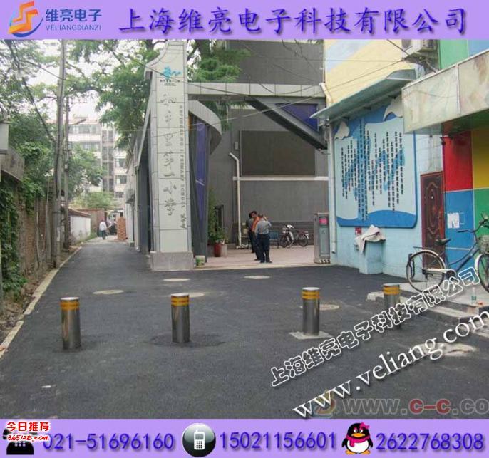 上海升降遙控路樁,不銹鋼升降路樁柱