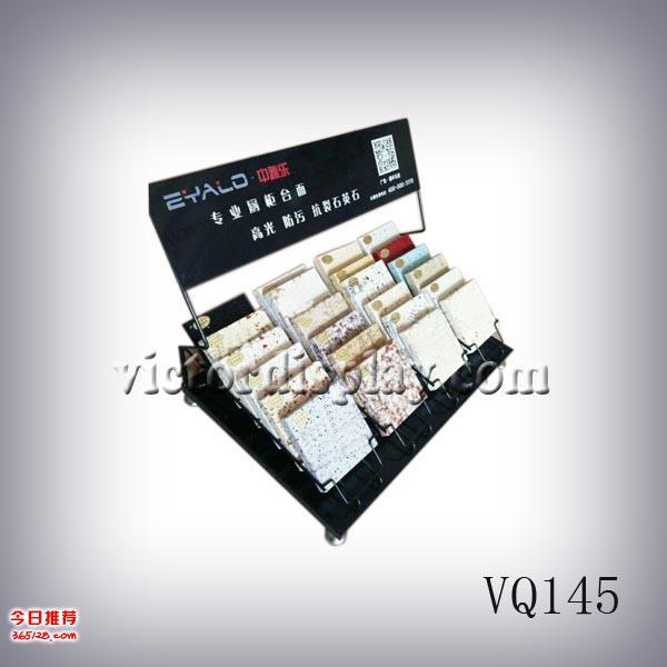 定制石英石展示架厂家直销石材桌面展架