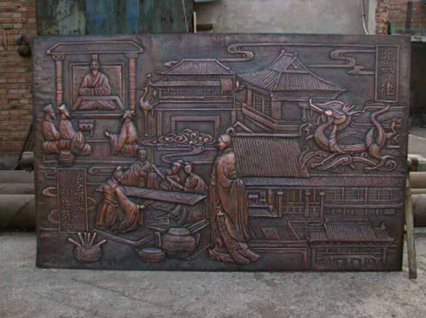 陕西西安睿欣铜浮雕厂供应紫铜浮雕 煅铜浮雕  黄铜浮雕 青铜浮雕