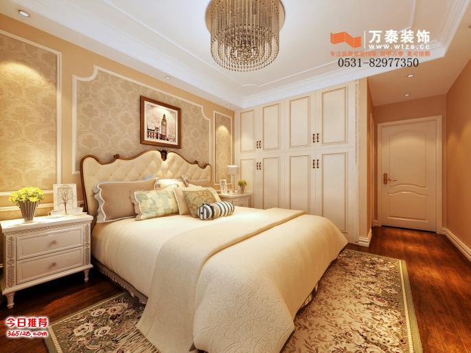 济南中海国际b4区美式风格装修案例—万泰装饰图片