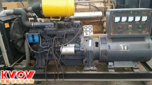 150千瓦二手发电机组可供出售或出租