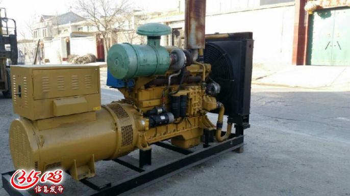 长治二手柴油发电机组上柴股份300千瓦,机子状况很好,长治二手