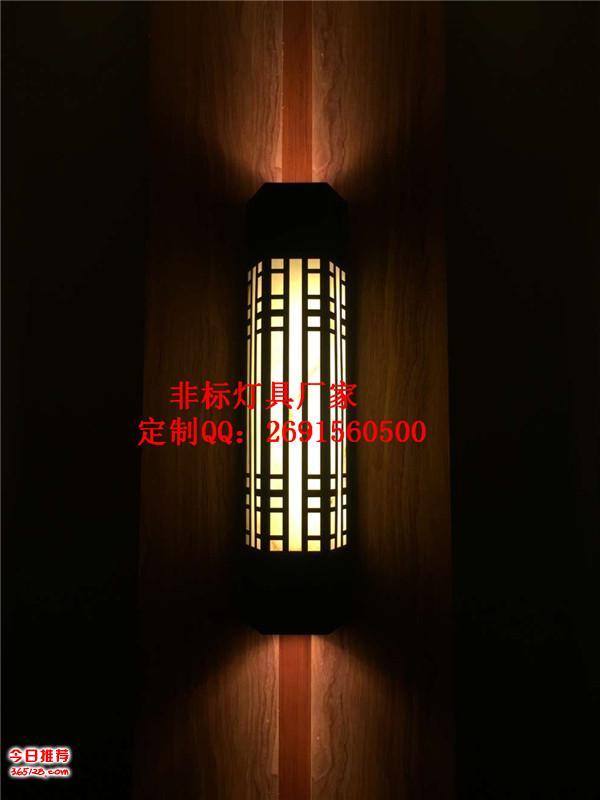 森降堡仿云石壁灯厂家,古镇景观灯定制,户外墙壁照明灯,不