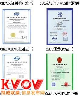 秦皇岛ISO9000认证