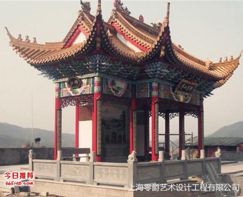 上海雕塑石雕圆顶凉亭 欧式玻璃钢罗马柱凉亭 园林景观装饰