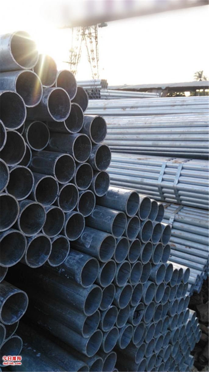 海口荣钢镀锌管标准管件厂家直销