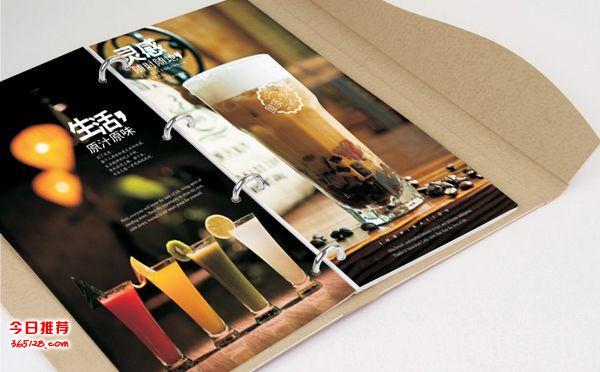 广东高档menu菜谱印刷装订服务-餐厅餐牌装订制作