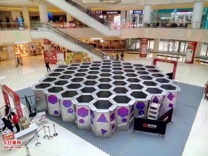 上海蜂巢迷宫租赁互动展示道具蜂巢迷宫出租