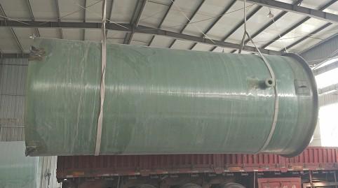 雨水玻璃钢一体化泵站@商河雨水玻璃钢一体化泵站