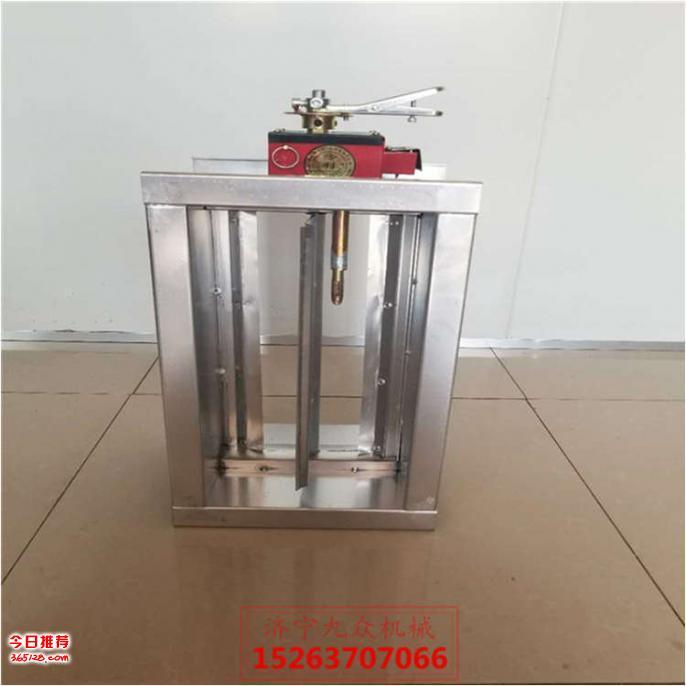 280度电动常开防火阀/全自动复位手动电动调节阀图片