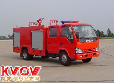 庆铃泡沫消防车,五十铃消防车
