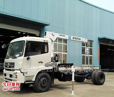 全国最低价昊意HY4S-3型4吨随车起重机 随车吊