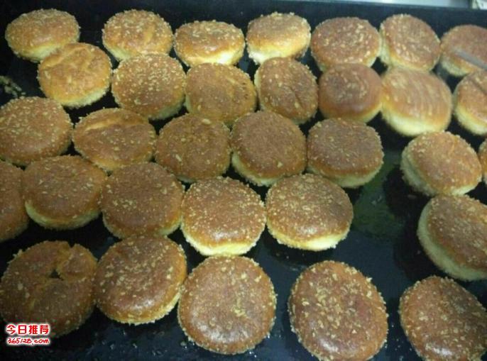 油煎红豆汉堡做法烤炉烤制的红豆汉堡做法包会