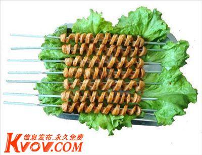 哈尔滨烤面筋加盟齐齐哈尔烤面筋特点鹤岗烤面筋做法双鸭山烤