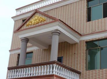 别墅建筑室内外设计装修装饰线条grc构件窗套内外饰花罗马柱