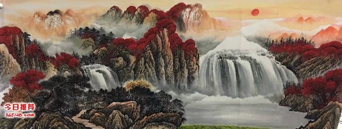 名家国画山水画订制去哪里?墨轩国画油画更专业