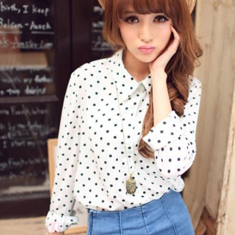 韩国白色欧根纱刺绣女长袖衬衣雪纺衫透视上衣蕾丝衫开衫打底衬衫-淘宝网精品