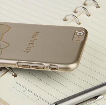 苹果6手机外壳奢华iphone6套新款4.7寸超薄磨砂硬卡通6plus5.5寸